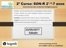 SON-R 2 ½-7 - Avaliação da Inteligência Geral