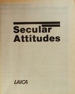 Secular Attitudes