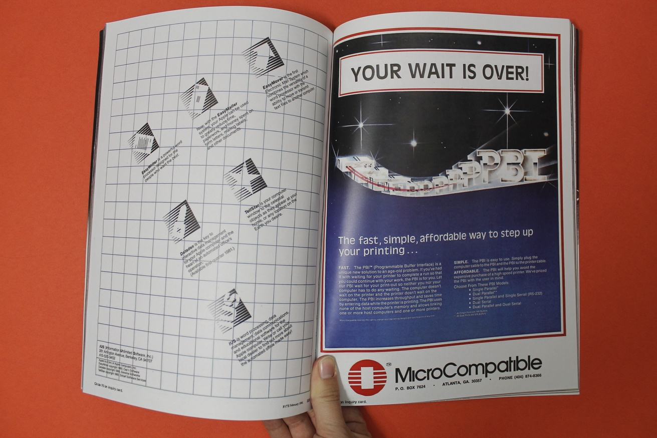 Byte Magazine Advertisements 1975–1994 thumbnail 3