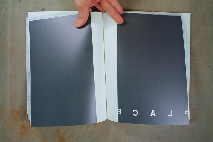 Peter Downsbrough - A Tale of the Space Between - Printed Matter