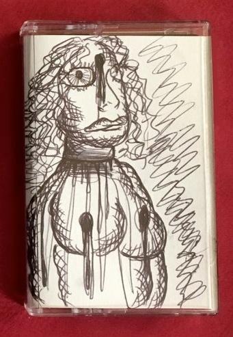 Dead Is Better Cassette [Hand-Drawn Cover] thumbnail 2