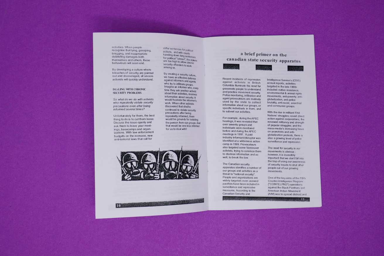 Security Culture: A Handbook for Activists thumbnail 4