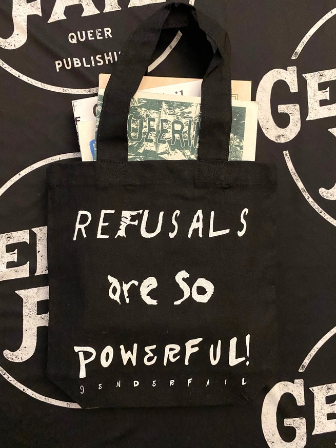 REFUSALS ARE SO BEAUTIFUL / REFUSALS ARE SO POWERFUL Mini Tote thumbnail 2