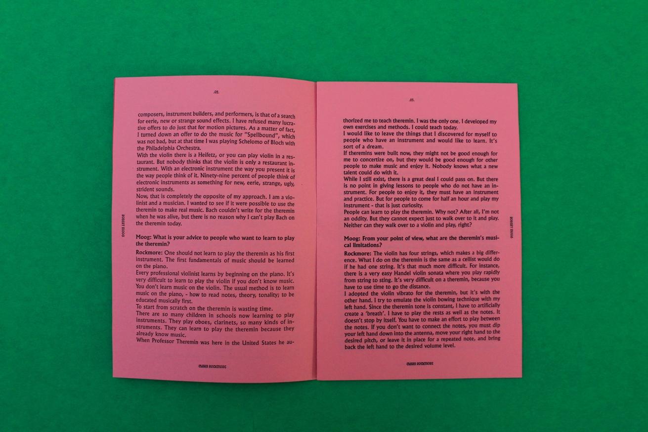Clara Rockmore by Robert Moog thumbnail 3