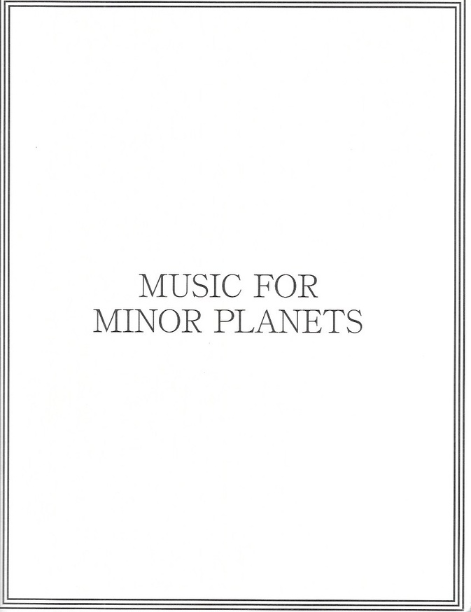 Music for Minor Planets
