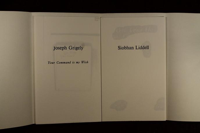 Joseph Grigely & Siobahn Liddell thumbnail 4