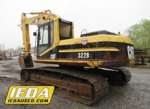 Used 1998 Caterpillar 322BL For Sale