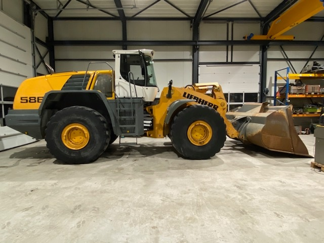 Used 2010 Liebherr L586 For Sale