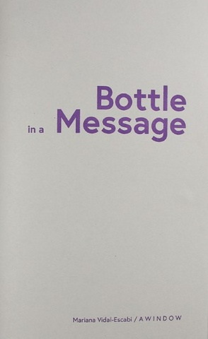 Bottle in a Message