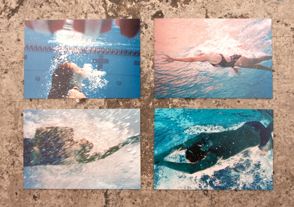 Olympic Swimmers Postcard Set thumbnail 4