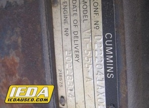 Used  Cummins VT555A For Sale