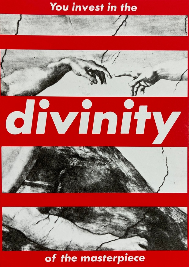 You Invest In The Divinity Of The Masterpiece Postcard