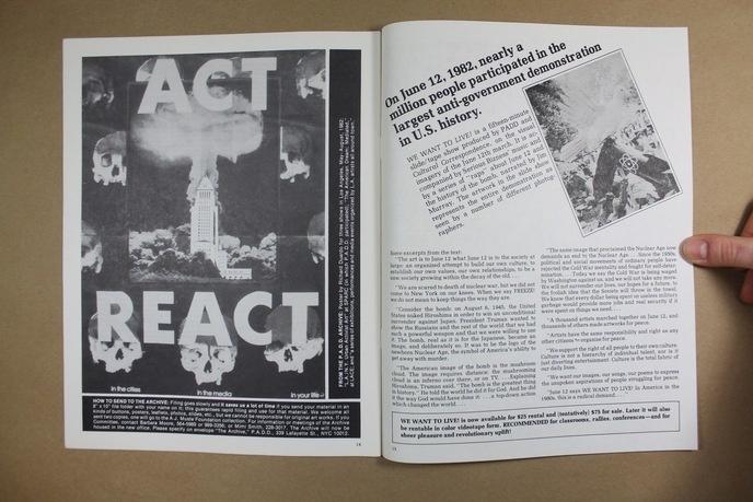 Upfront : A Political Art Documentation / Distribution