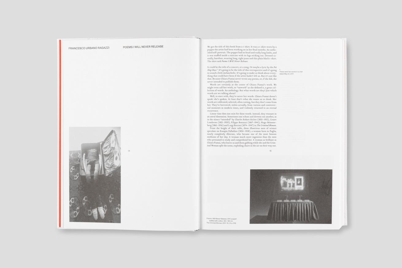 Poems I Will Never Release: Chiara Fumai 2007-2017 thumbnail 4