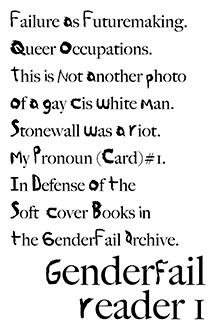 GenderFail Reader 1