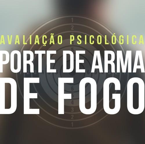 01 e 02 de outubro - Capacitação em Avaliação Psicológica para Porte de Arma de Fogo