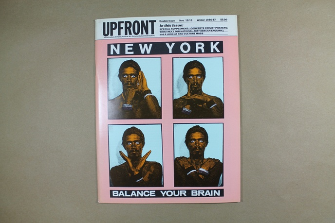 Upfront : A Publication of Political Art Documentation / Distribution thumbnail 1