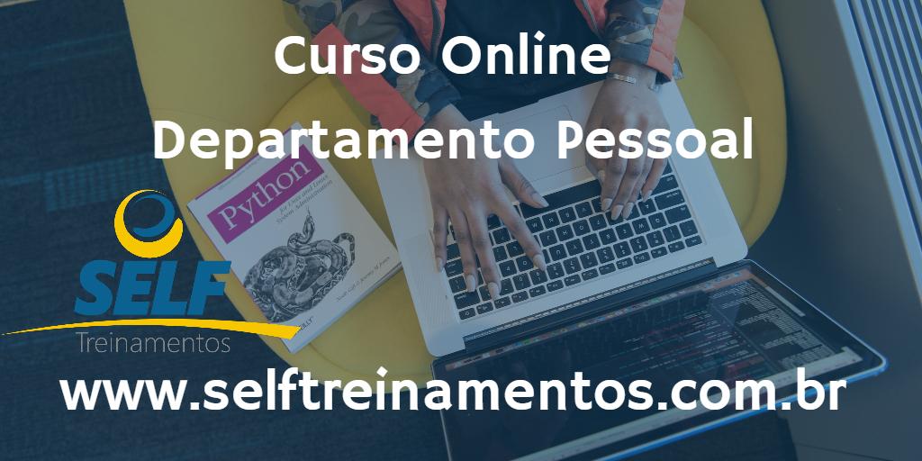 Curso Online: Departamento Pessoal