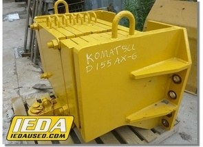 Used  Caterpillar D155AX-6 Counterweight For Sale