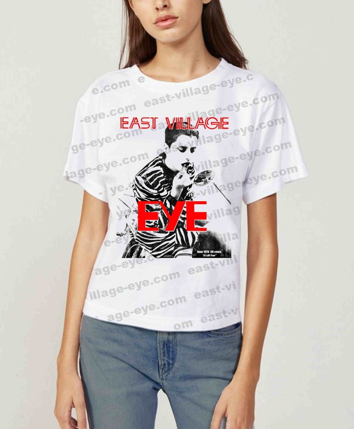 East Village Eye Lipstick T-shirt [X-Large] thumbnail 2