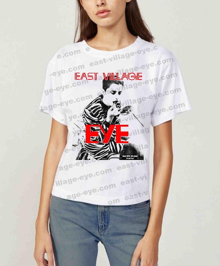 East Village Eye Lipstick T-shirt [X-Large] thumbnail 2