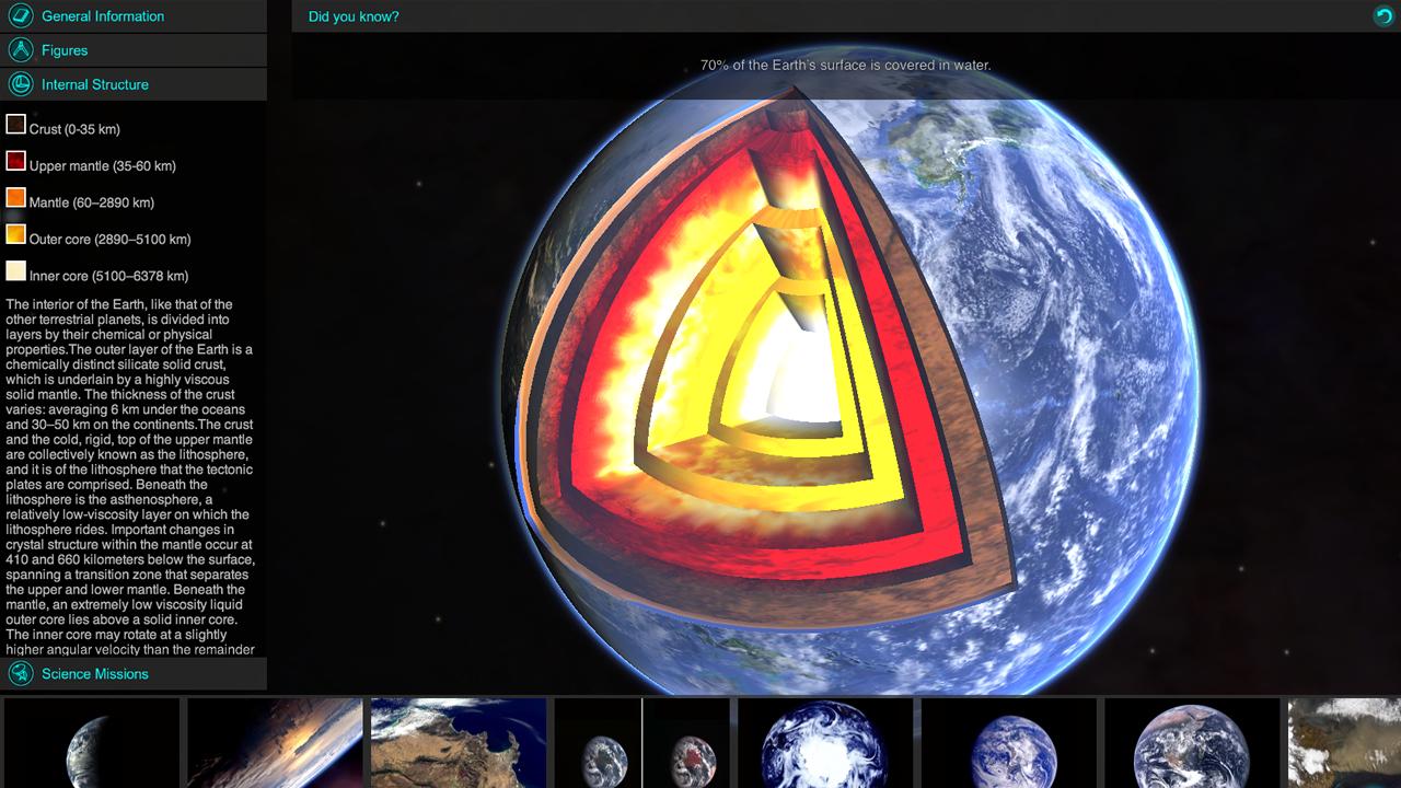 Leap Motion App Store | Solar Walk - 3D Solar System model