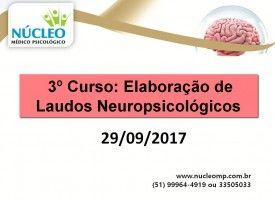 Elaboração de Laudos Neuropsicológicos 29/09