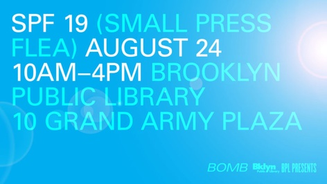 Small Press Flea 2019