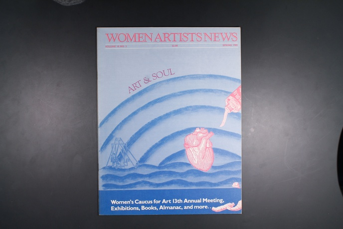 Women Artists News-Various Issues thumbnail 24