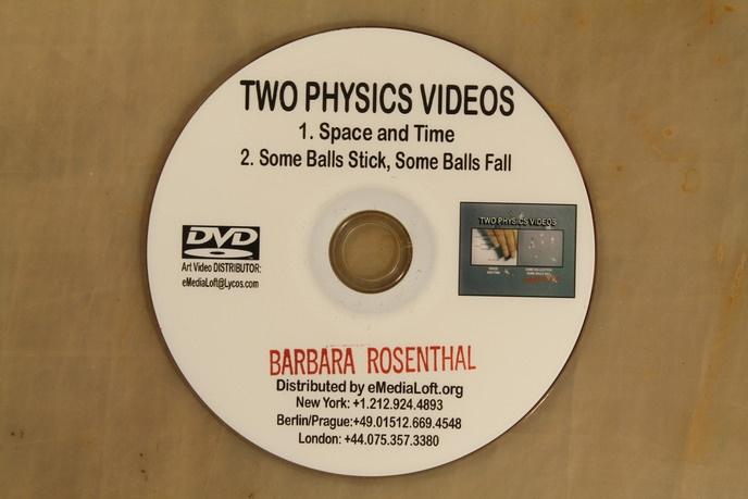 Barbara Rosenthal - Two Physics Videos - Printed Matter