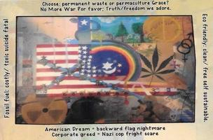 American Dream = Backward Flag Nightmare