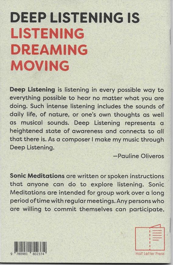 Sonic Meditations thumbnail 4