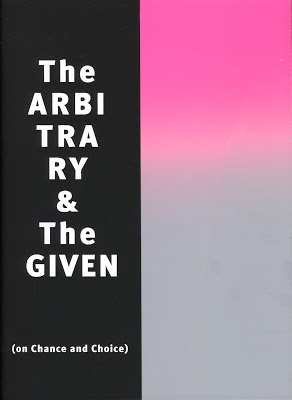 The Arbitrary and the Given