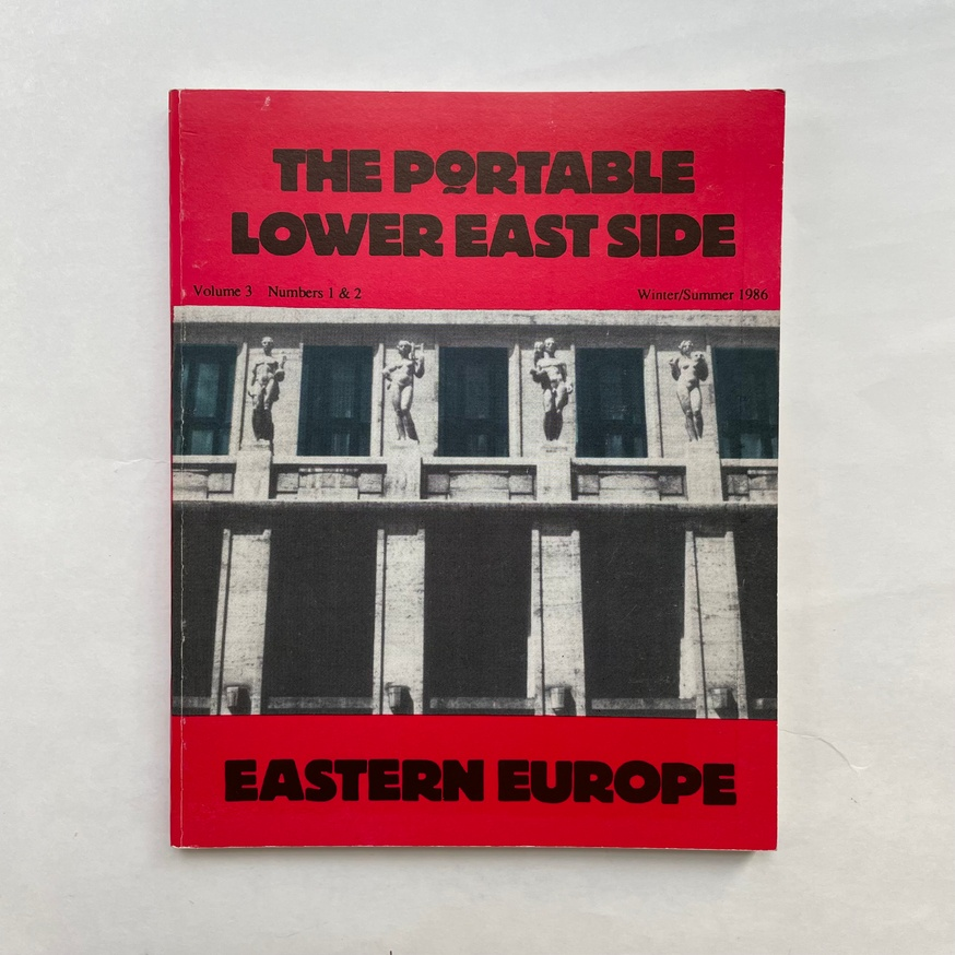 The Portable Lower East Side: Eastern Europe