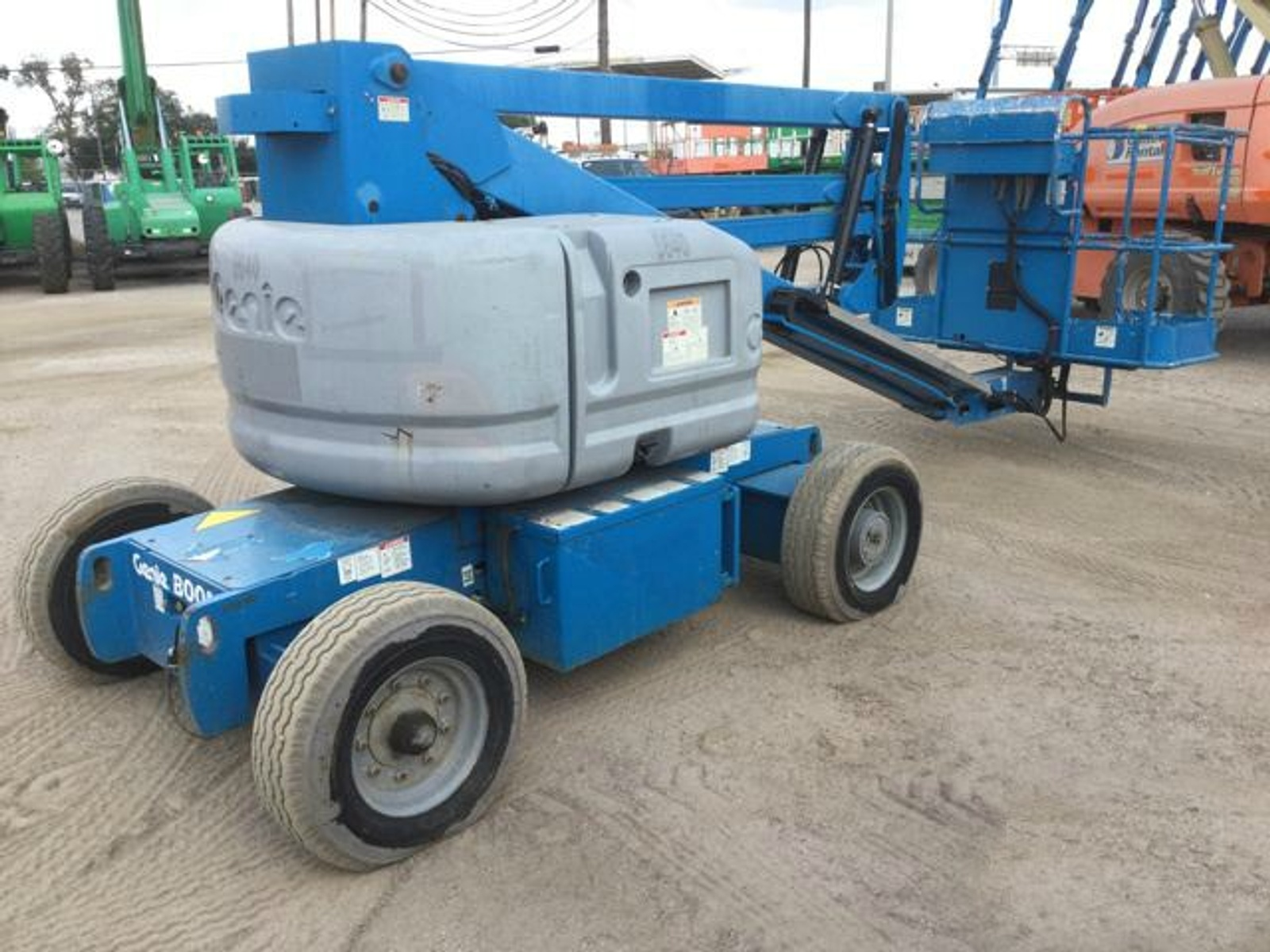2009 Genie Z45 25dc For Sale Aerial Titans Inc Lift Wiring Diagram Show 9 Pictures