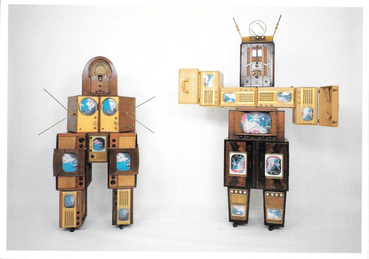 Family of Robot: Grandmother (L), Grandfather (R), 1986