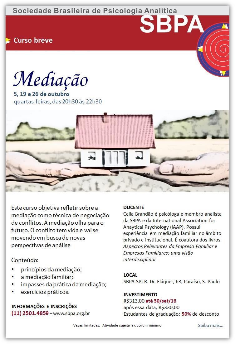 Curso: Mediação