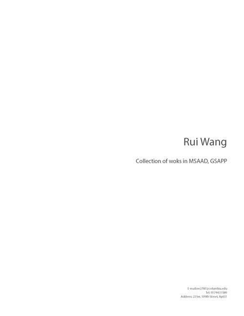 AAD WangRui SP20 Portfolio.pdf_P1_cover.jpg