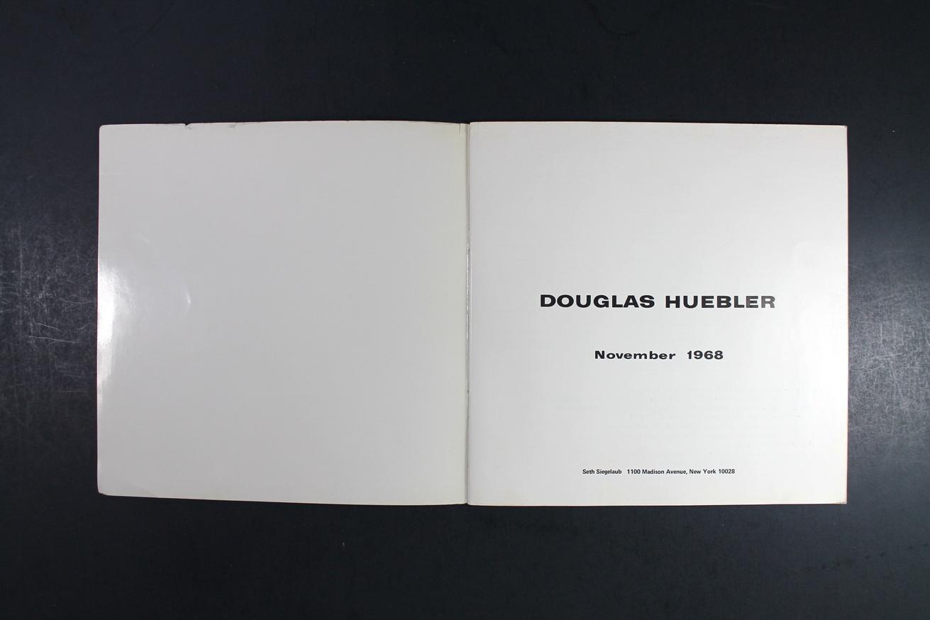 Douglas Huebler : November 1968 thumbnail 2