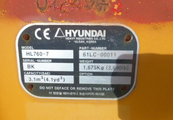 Used  Hyundai 61LC-00011 For Sale