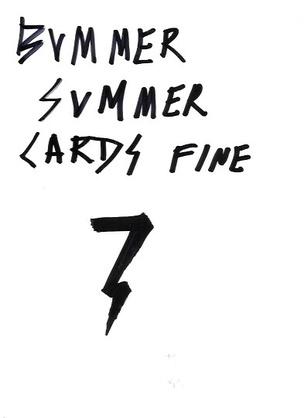 Bummer Summer Cards Fine