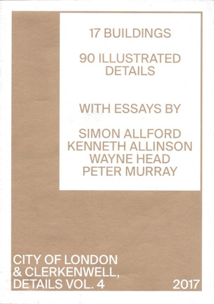 Details, Vol. 4 : City of London & Clerkenwell