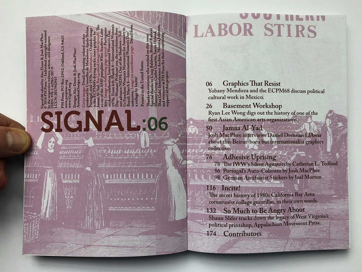 Signal: A Journal of International Political Graphics and Culture thumbnail 2
