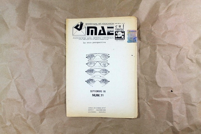 Spanish Mail Art Association Bulletin