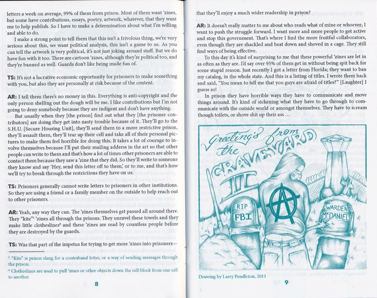 Publishing 'Zines for Prisoners : An Interview with Anthony Rayson thumbnail 2