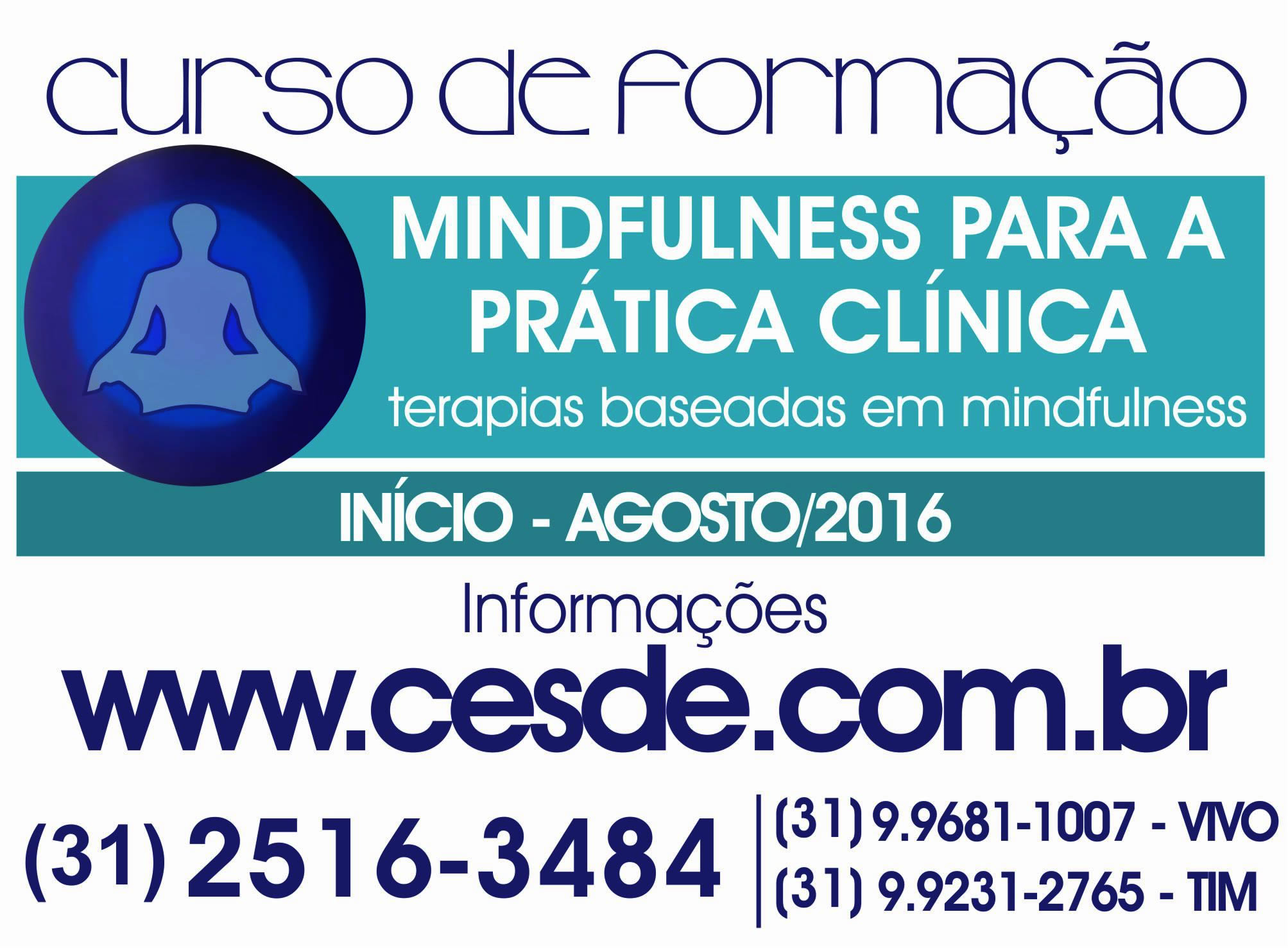 Formação em Mindfulness para a prática Clínica