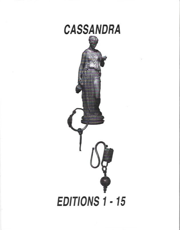Cassandra Editions 1-15