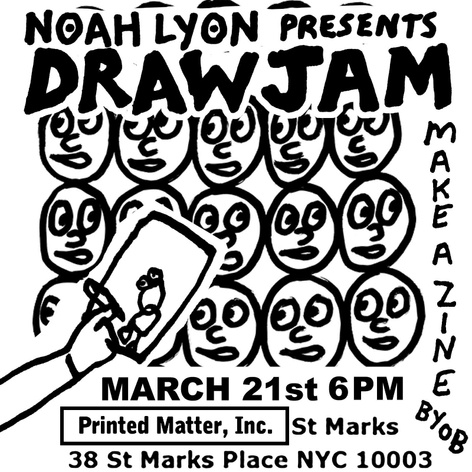 Draw Jam Zine Party with Noah Lyon