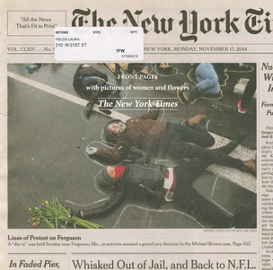 Front Pages with Pictures of Women and Flowers : The New York Times
