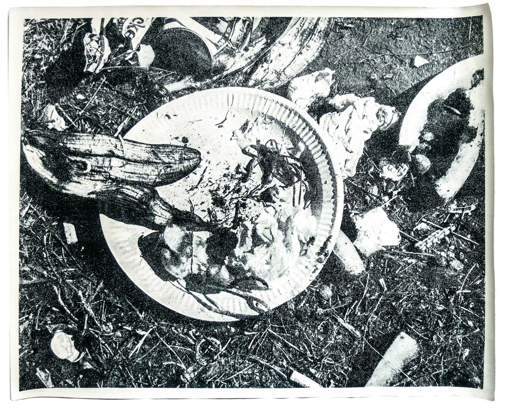 Picnic Garbage Placemat [vinyl]